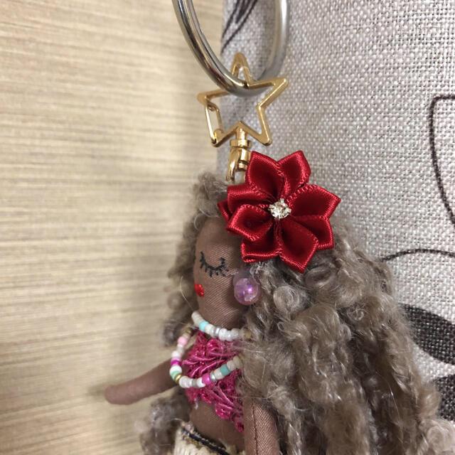 ハンドメイドドールチャーム  フラドール ハンドメイドのぬいぐるみ/人形(人形)の商品写真