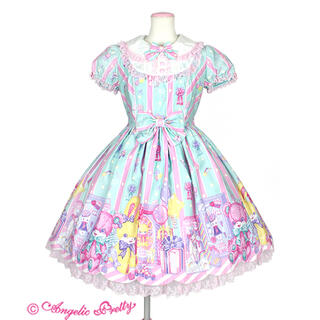 アンジェリックプリティー(Angelic Pretty)のToy Doll Box ミントワンピース欠品あり(ひざ丈ワンピース)