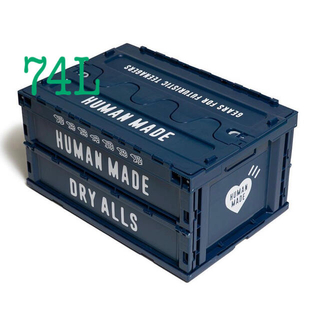 A BATHING APE - HUMAN MADE CONTAINER 74L コンテナ