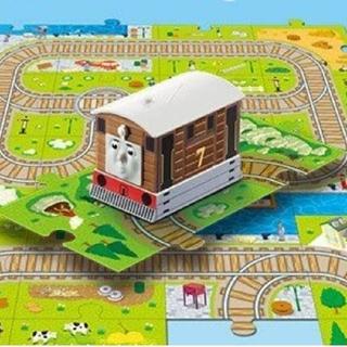 マクドナルド(マクドナルド)の2018年 ハッピーセット 「きかんしゃトーマス」路面蒸気機関車 トビー(キャラクターグッズ)
