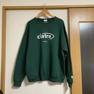 carhartt - ciatre 緑 スウェット