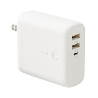 ムジルシリョウヒン(MUJI (無印良品))の無印良品  MUJI モバイルバッテリー 急速充電器付(バッテリー/充電器)