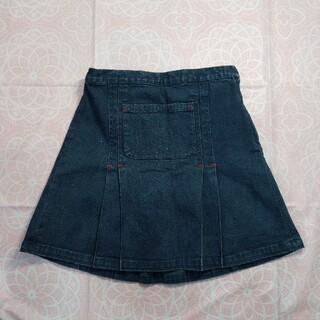 スキップランド(Skip Land)の☆値下げ☆ デニムスカート 120センチ(スカート)