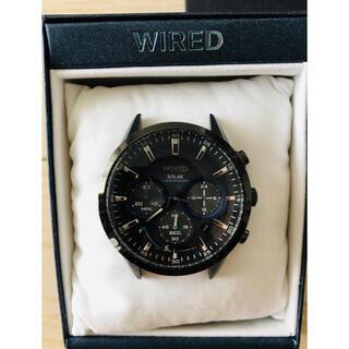 ワイアード(WIRED)のWIRED ソーラー腕時計 ワイアード 福士蒼汰着用モデル(腕時計(アナログ))