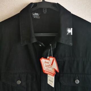 ジーユー(GU)の未使用♪黒XLサイズ GUミハラヤスヒロデニムジャケット(Gジャン/デニムジャケット)