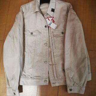 ジーユー(GU)の未使用♪白XLサイズ GUミハラヤスヒロデニムジャケット(Gジャン/デニムジャケット)