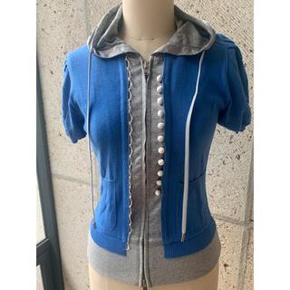 アトウ(ato)のアトウ 半袖 パーカー トップス(Tシャツ(半袖/袖なし))
