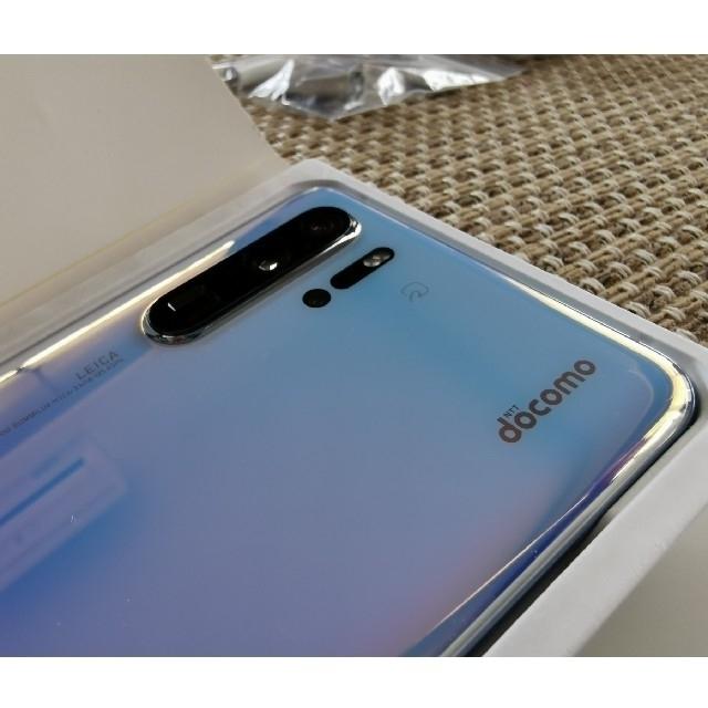 NTTdocomo(エヌティティドコモ)のHUAWEI  P30pro HW-02L simフリー 動作確認のみ未使用 スマホ/家電/カメラのスマートフォン/携帯電話(スマートフォン本体)の商品写真