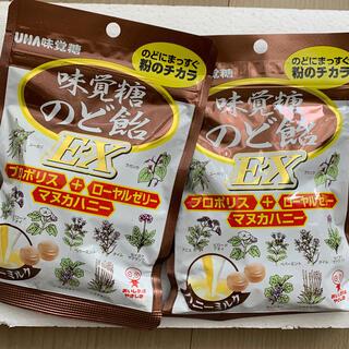 ユーハミカクトウ(UHA味覚糖)のUHA味覚糖のど飴EX 2袋(菓子/デザート)