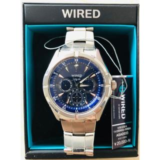 ワイアード(WIRED)のワイアード ソーラー腕時計 WIRED(腕時計(アナログ))