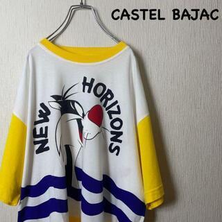 CASTELBAJAC - イタリア製 90s カステルバジャック キャラクターコラボ Tシャツ