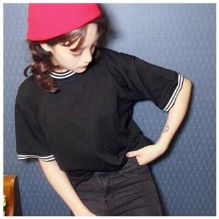 ディーホリック(dholic)の在庫処分 韓国風 オルチャン スポーティー シンプル Tシャツ(Tシャツ(半袖/袖なし))