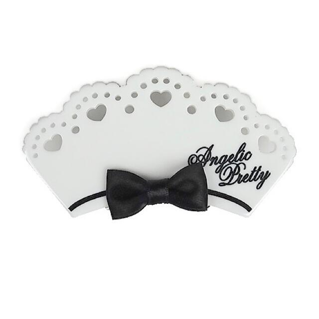 Angelic Pretty(アンジェリックプリティー)のBear's Chocolaterieカフェバレッタ レディースのヘアアクセサリー(バレッタ/ヘアクリップ)の商品写真