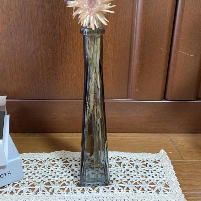 パンパスグラス✿グレビレアゴールド*ドライフラワー*フラワーベースセット ハンドメイドのフラワー/ガーデン(ドライフラワー)の商品写真