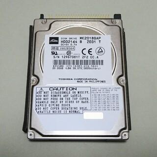 トウシバ(東芝)のハードディスク(20GB)東芝製(PCパーツ)