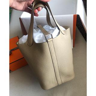 エルメス(Hermes)の新品未使用 エルメス ピコタン 18cm トレンチ色(ハンドバッグ)