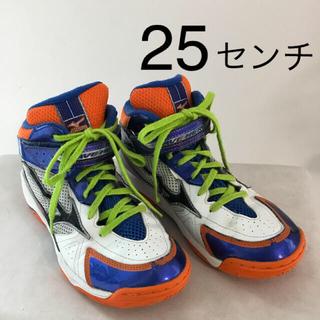 ミズノ(MIZUNO)のバスケットシューズ 25センチ(バスケットボール)