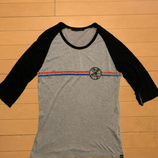 ロアー(roar)の定価1.6万★新品同様ロアー roar Tシャツ 5分袖 サイズ2(Tシャツ/カットソー(七分/長袖))