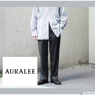 アクネ(ACNE)のAURALEE オーラリー ウールシルクトロピカルスラックス(スラックス)