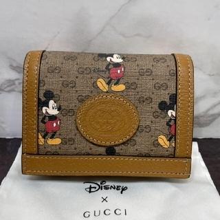 Gucci - 超美品♡GUCCI グッチ GG ミッキーコラボ 折り財布