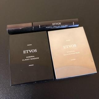 エトヴォス(ETVOS)のetvos ミネラルシマリングデュオ クラッシィシャドー おまけ2点付き(その他)