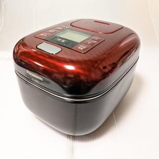 パナソニック(Panasonic)のパナソニック 3合 炊飯器 圧力IH式 豊穣ブラック SR-JX055-K(炊飯器)