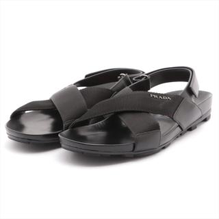 プラダ(PRADA)のプラダスポーツ  ナイロン×レザー 8 1/2 ブラック メンズ その他靴(その他)