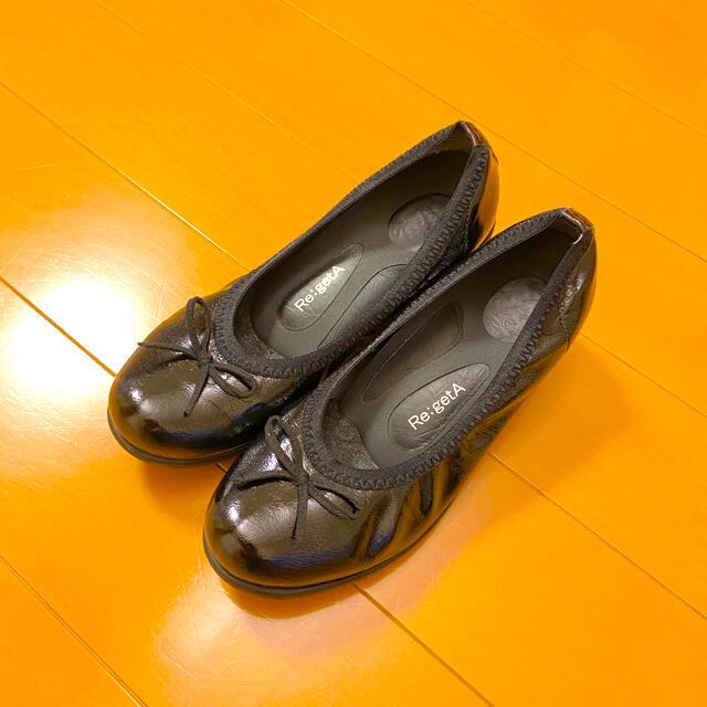 Re:getA(リゲッタ)のリゲッタ パンプス  L ブラック レディースの靴/シューズ(ハイヒール/パンプス)の商品写真