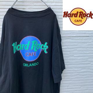 ハードロックカフェ Tシャツ 90sヴィンテージ USA製 XL ビッグロゴ(Tシャツ/カットソー(半袖/袖なし))