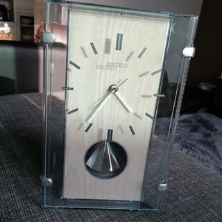 セイコー(SEIKO)のセイコーお洒落 置き時計定価15000円(置時計)