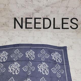 ニードルス(Needles)のNEEDLES ニードルス ×Girls Don't Cry バンダナスカーフ(バンダナ/スカーフ)