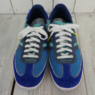 アディダス(adidas)のレア アディダスサンバ YOPPI コーデュロイ✖️スエードマルチカラー(スニーカー)