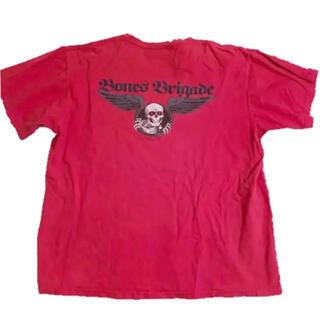 パウエル(POWELL)のレア! 90s ビンテージ  パウエル ボンズブリゲード プリントTシャツ(Tシャツ/カットソー(半袖/袖なし))