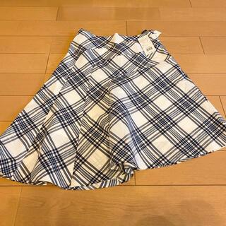 ザスコッチハウス(THE SCOTCH HOUSE)のチェック柄スカート(ひざ丈スカート)
