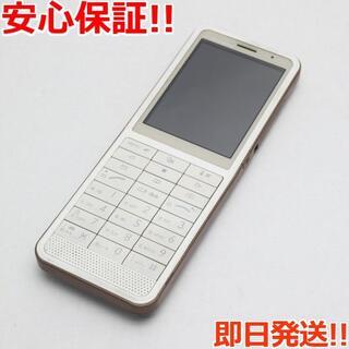 エルジーエレクトロニクス(LG Electronics)の美品 L-04B ブラウン (携帯電話本体)