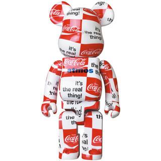 メディコムトイ(MEDICOM TOY)のBE@RBRICK Coca-Cola 1000% CHECKERBOARD(その他)
