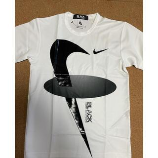 ブラックコムデギャルソン(BLACK COMME des GARCONS)のCDG BLACK x NIKE Tシャツ(Tシャツ/カットソー(半袖/袖なし))