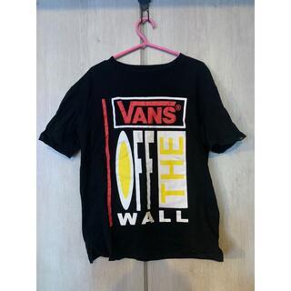ヴァンズ(VANS)のVANS Tシャツ ブラック 黒 バンズ F 半袖 イーハイフン(Tシャツ(半袖/袖なし))