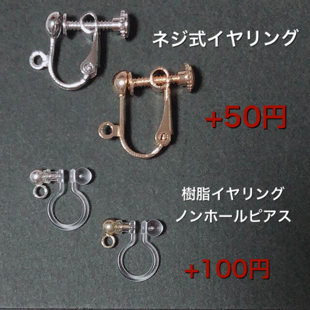 eria620202様専用ページ ハンドメイドのアクセサリー(ピアス)の商品写真