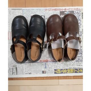 サマンサモスモス(SM2)の新品未使用サマンサモス合成革靴2足セット(ローファー/革靴)