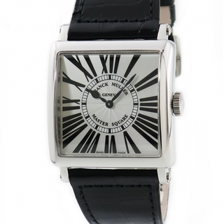 フランクミュラー(FRANCK MULLER)のフランクミュラー  マスタースクエア 6002HQZR クオーツ メンズ(腕時計(アナログ))