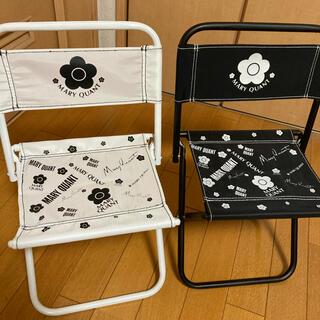 マリークワント(MARY QUANT)のマリークワント 非売品 折り畳み椅子(折り畳みイス)