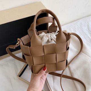 シールームリン(SeaRoomlynn)のエコレザーバッグ バケットバッグ メッシュバッグ 韓国ファッション 韓国(ハンドバッグ)