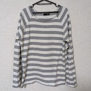 ボーダーロングスリーブ(Tシャツ/カットソー(七分/長袖))