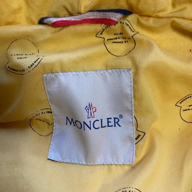 MONCLER(モンクレール)のモンクレール ダウンベスト visvim メンズのジャケット/アウター(ダウンベスト)の商品写真