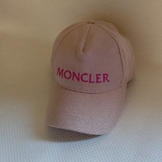 モンクレール(MONCLER)のMONCLER☆モンクレールピンク キャップ(キャップ)