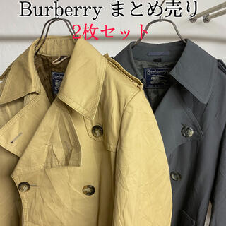 バーバリー(BURBERRY)のビンテージ Burberry バーバリーステンカラーコート 古着まとめ売り(ステンカラーコート)