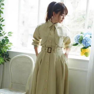 snidel - Her lip to Spring Dress Coat  M トレンチコート