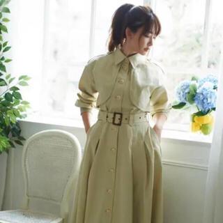 snidel - Her lip to Spring Dress Coat  M トレンチコート