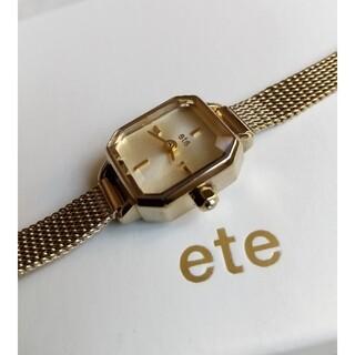 ete - エテ腕時計 eteレディースブレスクォーツ